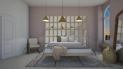 blurry BDRM - Bedroom  - by Miss MH