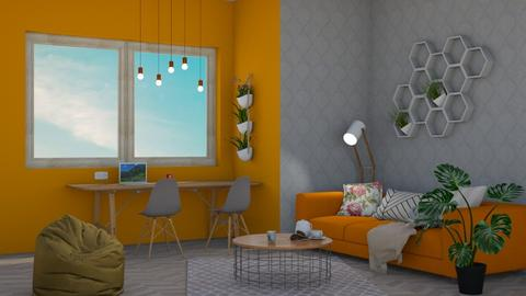 HONEY - Living room  - by sillvie