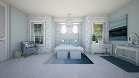 Blue dream - Minimal - Bedroom  - by kalaaa