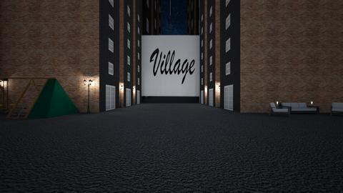 Village - by Tanem Kutlu