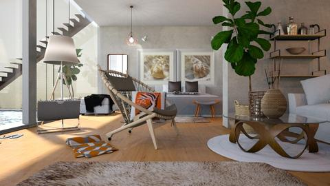 Bedroom_with_Pool - Bedroom  - by ZuzanaDesign