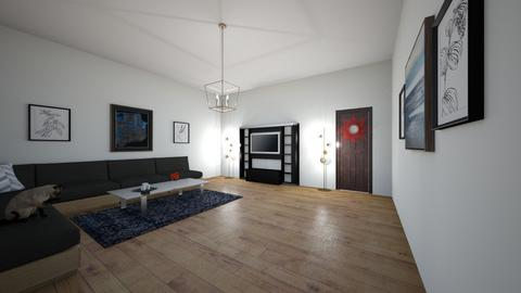 my space  - Living room  - by cats land 406