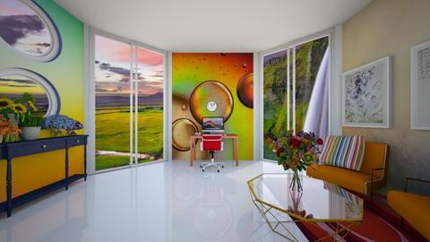 CONTEST 227 Rainbow Office - by Feeny