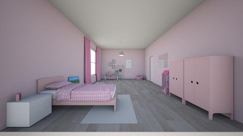 pink room - Kids room  - by 153178