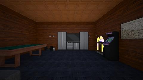cuarto de entretenimiento - Living room  - by istalex
