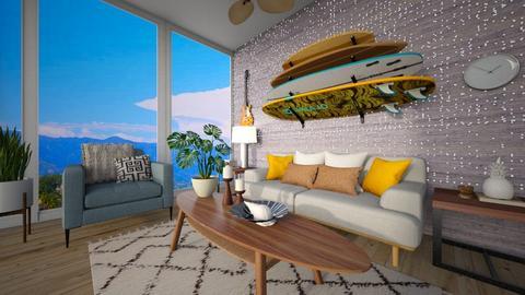 Villa - Living room  - by matullosr
