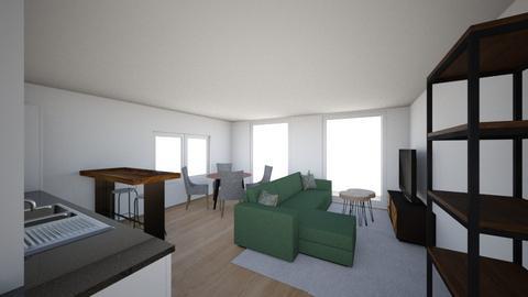 Omega 2 - Living room  - by Roosstyler