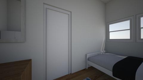 Mitt soverom 1 - Bedroom  - by karenock