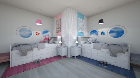CR Kids Bedroom - Bedroom  - by weinsteinkids