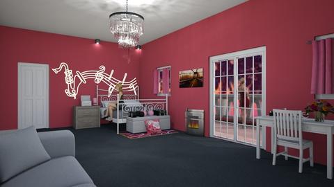 girls room5 - Feminine - Bedroom  - by Keith Urban