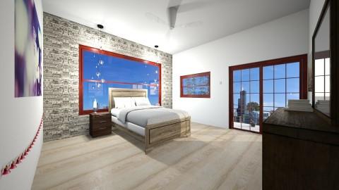 j - Bedroom - by hannahre