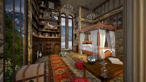 Harry Potter Bedroom - Bedroom  - by Yavanna