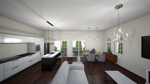 New house 6 - Living room - by Niva T