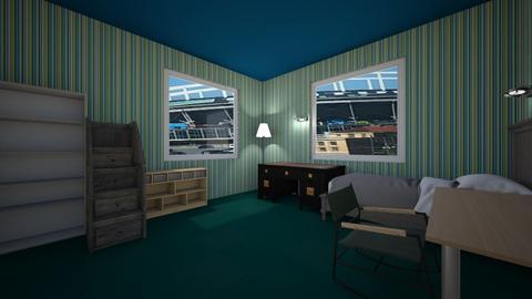 Sam Laughtons Room design - Bedroom  - by Slaughton03