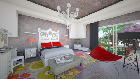 KinGly - Eclectic - Bedroom  - by Saj Trinaest