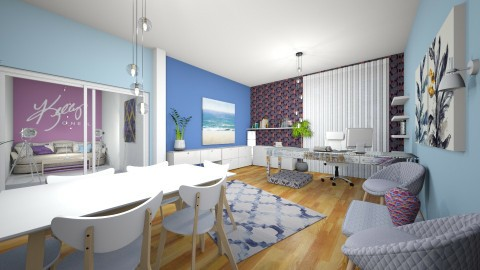 Home Office for Kelly - Modern - Office - by kashanka