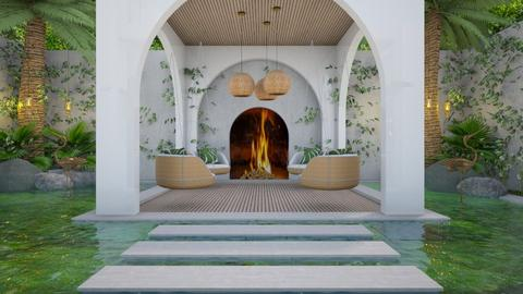 Tropical Elegance 1 - Garden  - by Fofinha