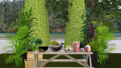 picnic garden - Garden  - by malithu damsath
