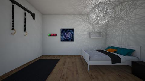 Gymnastics girl - Modern - Bedroom  - by Louisa caulton
