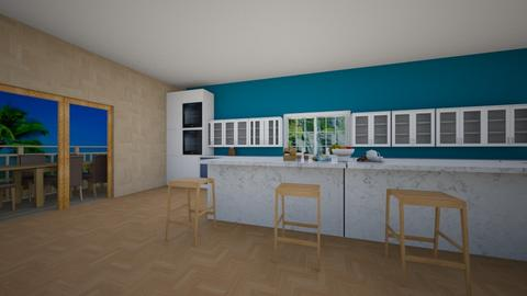 moderngreek  dining room  - Modern - Dining room  - by kage_of_the_anime_village_yumi
