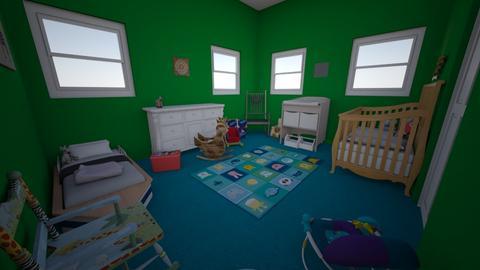 shared room - Kids room - by thatssooverthetopp