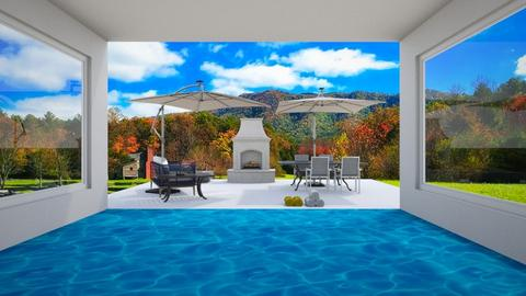 Pool And Patio - by Horse_Lover_Mel