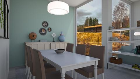 comedor nordico - by wiwa