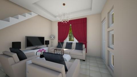 Apartment1_LA - Living room - by ClaveriaCarla
