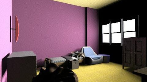 Bedroom 1 - Bedroom - by sarahdeco2