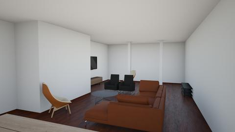 6 15a - Living room  - by bercovitz