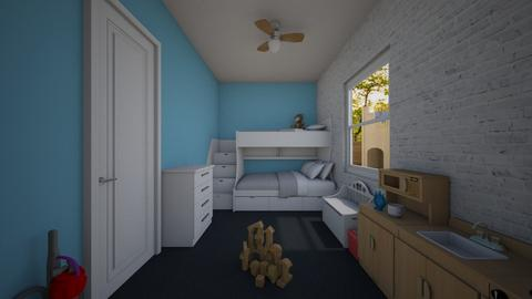 Play and Sleep - Kids room - by June Thomas