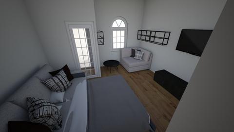 Jokai ter - Living room  - by herboly