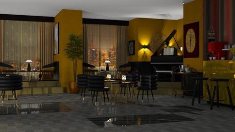 dream caffe - Dining room  - by nat mi