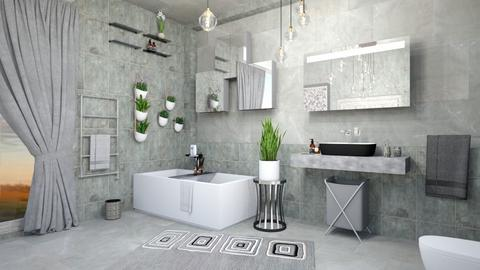 art deco bath - Bathroom  - by zayneb_17