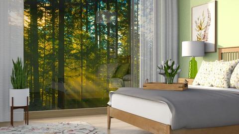 sage green - Bedroom  - by Sirtzuu93