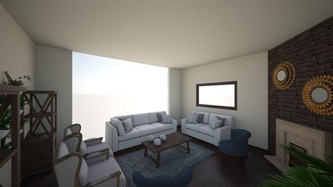 antique - Living room - by edataman