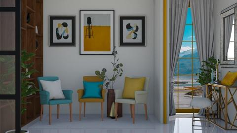 Three Armchairs 3 - Living room  - by KittyKat28
