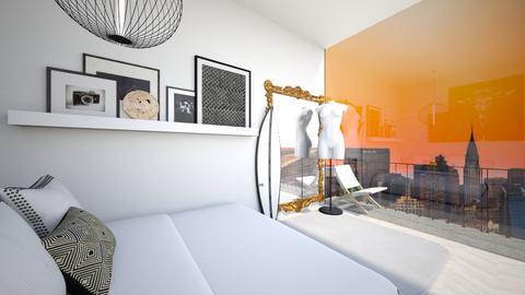 ny bedroom - Bedroom  - by juliette fellinger1