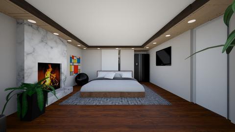Nicholas Nicolls 3 - Modern - Bedroom  - by nicolln20