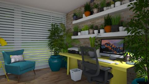 Urban Jungle Office - Office  - by CassW