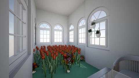 green room - Garden  - by Breiana13