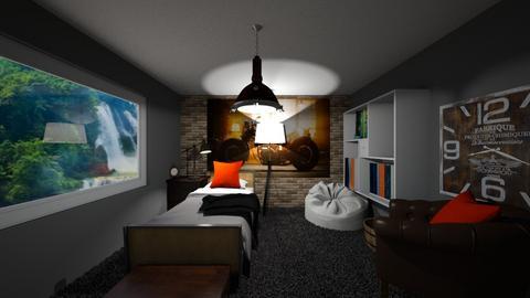 Rustic Bedroom - Rustic - Bedroom  - by Riordan simpson