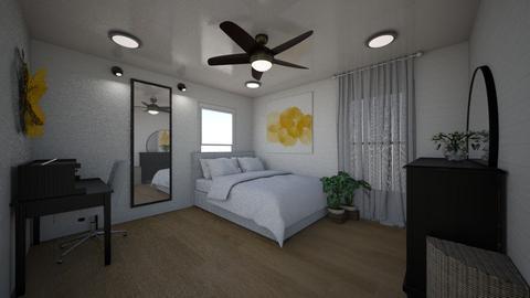 Ellas room  - Rustic - Bedroom  - by ellareilly