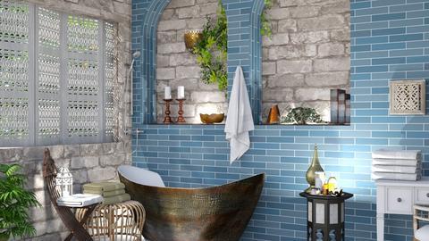 bath remix modern twist - Bathroom  - by Doraisthe_nameofmydoggo12345