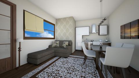 Small apartment Kitchen  - Modern - Kitchen - by Vangjel
