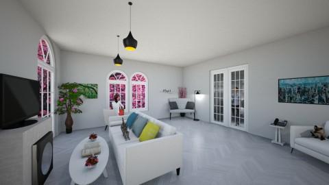 Simple living room - by Lucija Bosotin