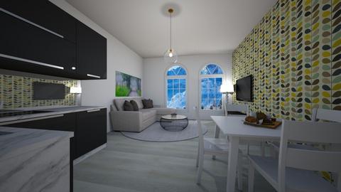 Wall - Country - Living room - by Twerka