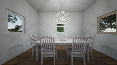 simple dining room - Modern - Dining room - by Meoffcourse