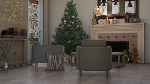 Christmas - Living room  - by Adelaide8