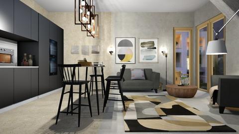 West_Sofa - Kitchen  - by ZuzanaDesign
